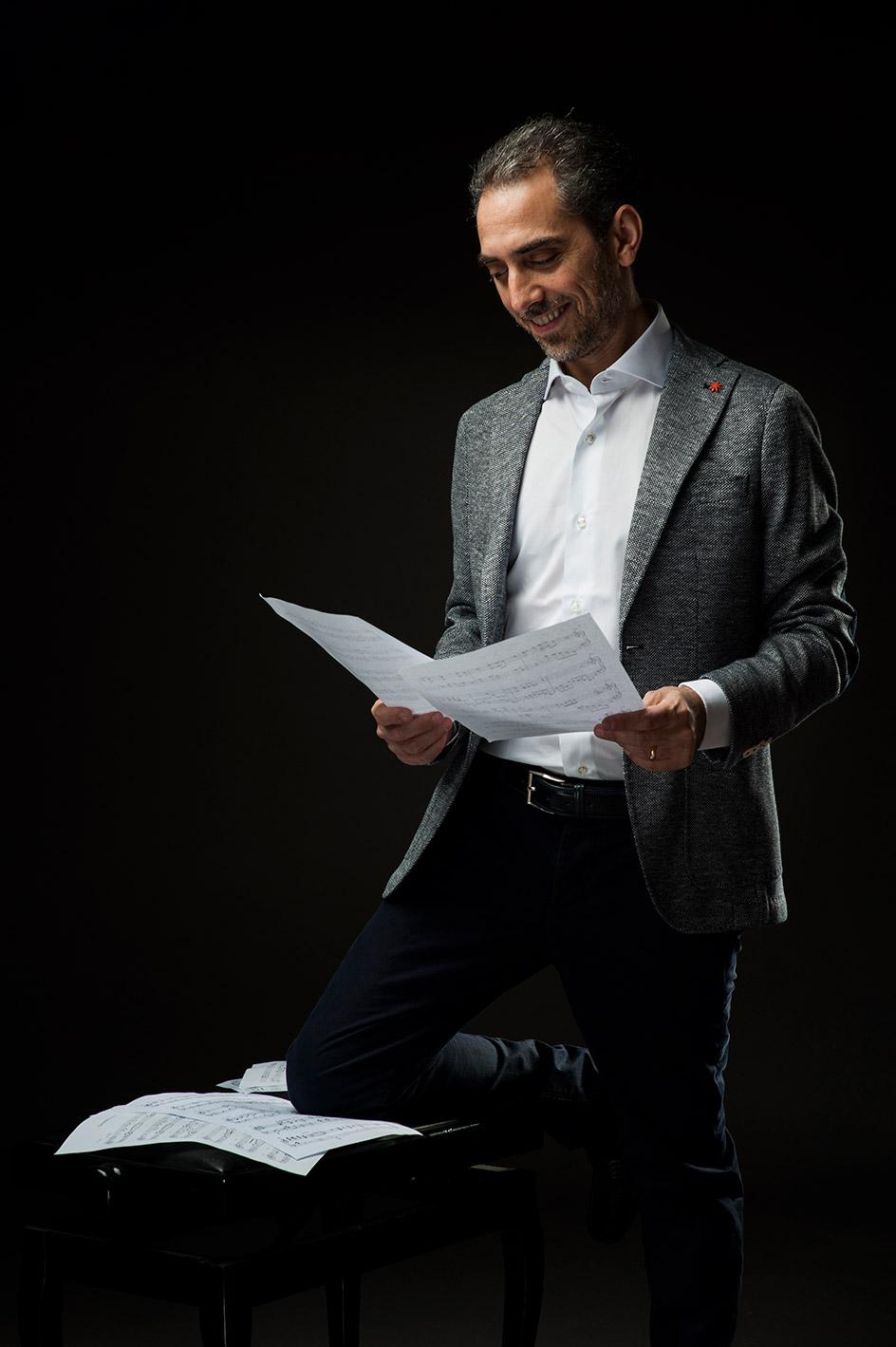 italian pianist and composer Fabio di Biase