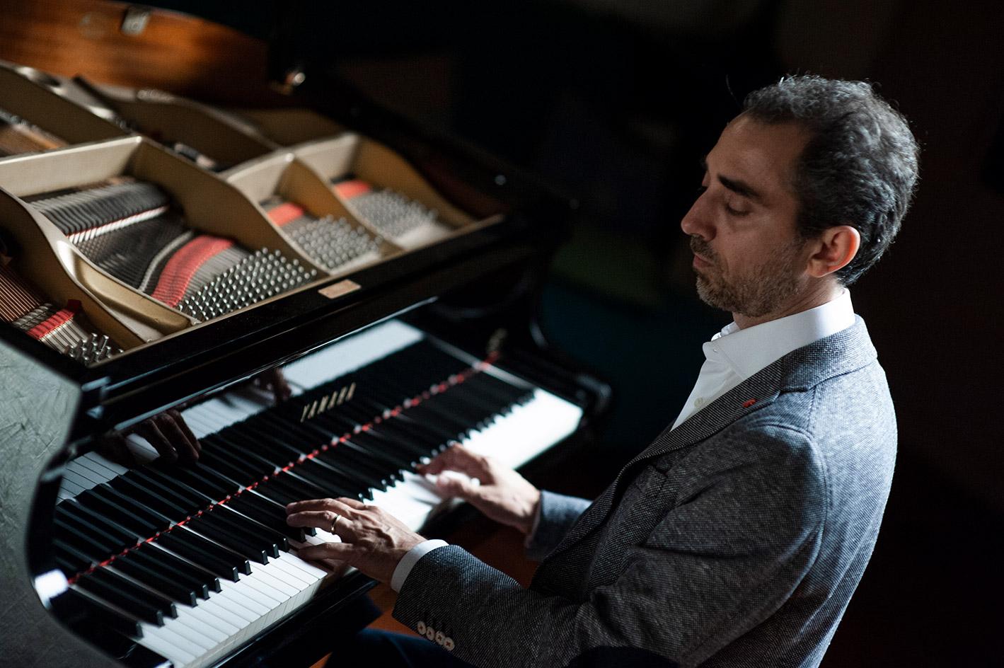 Italian pianist Fabio di Biase