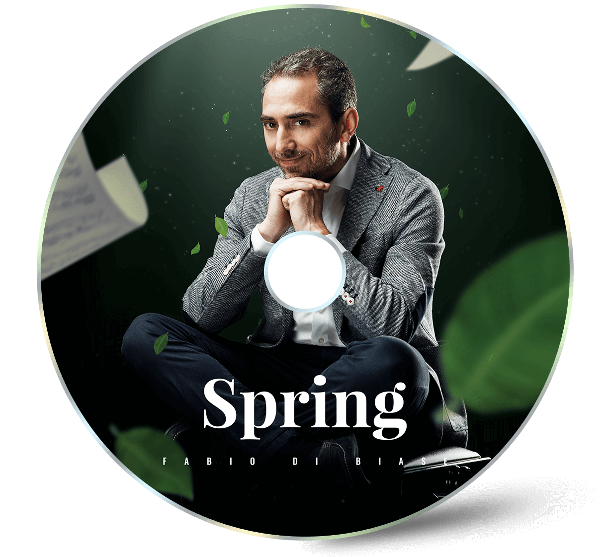 Cd art cover Spring Fabio di Biase