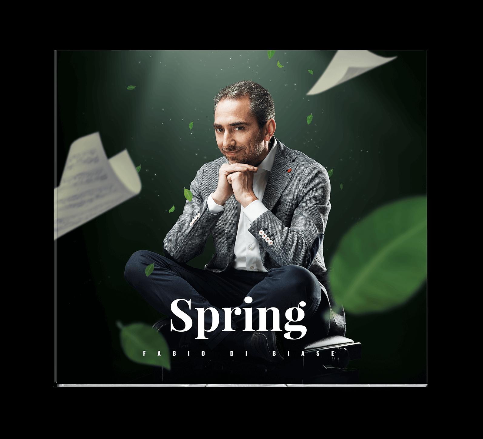 Cd art cover Spring Fabio di Biase