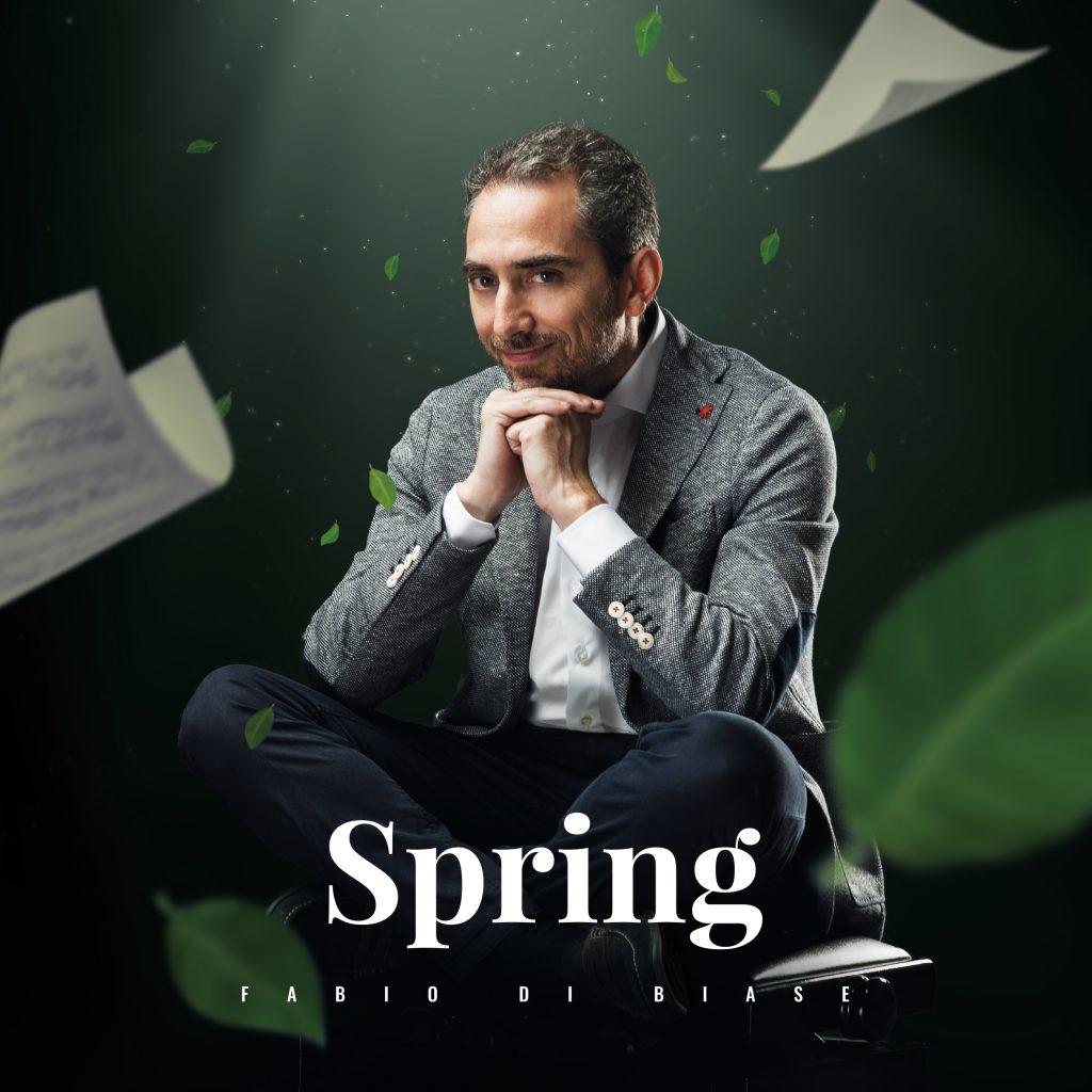 Piano solo album Spring by Fabio di Biase