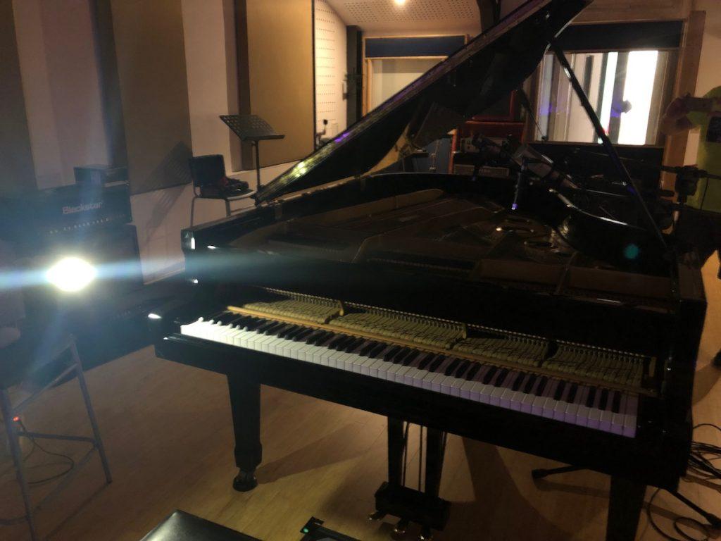 Fabio di Biase piano recording Soundinside Basement