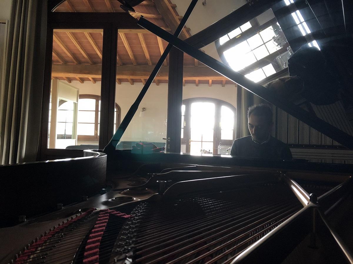 Fabio di Biase piano Officina Sonora del Bigallo