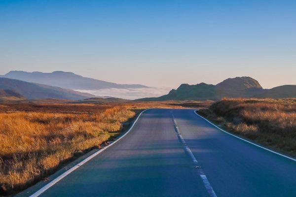 American roads Fabio di Biase